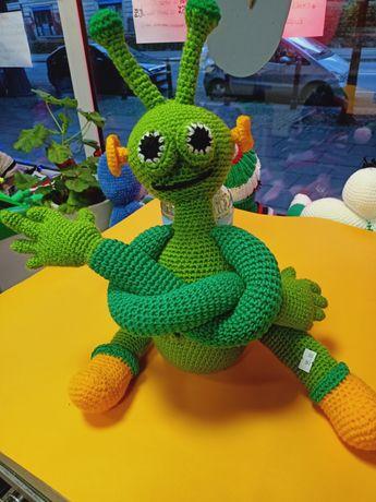 Maskotki zabawki przytulanki szydełkowe