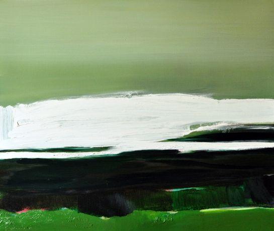 Obraz olejny 60x50, olej na płótnie 2019 Abstrakcja Rękodzieło V