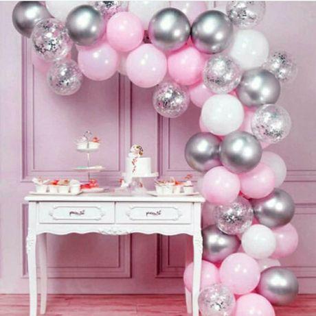 Фотозона для девочки, для мальчика, на день рождения, арка из шаров