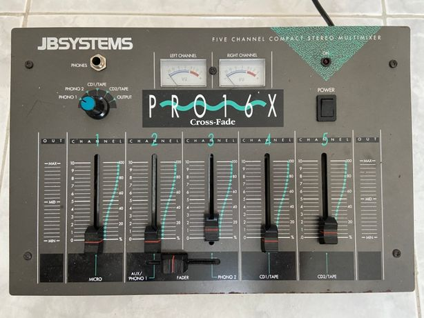 Controlador JB Systems Pro 16x Cross-Fade