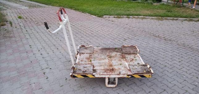 Wózek transportowy warsztatowy duży.