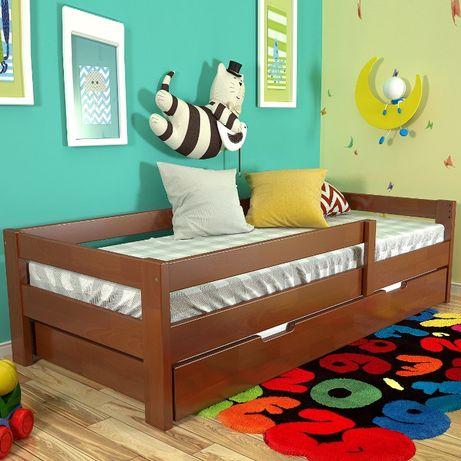 Кровать деревянная, детская кровать, 1