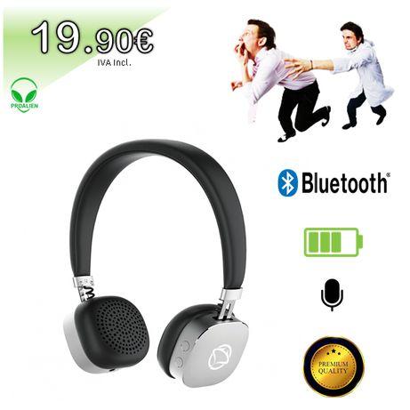 Auscultadores Bluetooth PREMIUM MANTA - Loja