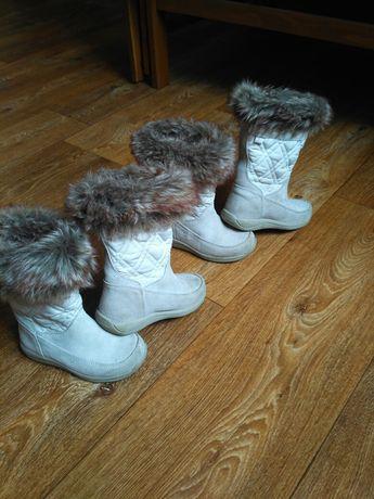 Сапожки, ботинки демисезонные для двойни Timberland