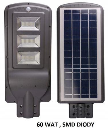Lampa solarna LED uliczna 40 Wat lub 60 wysoka jakość wykonania