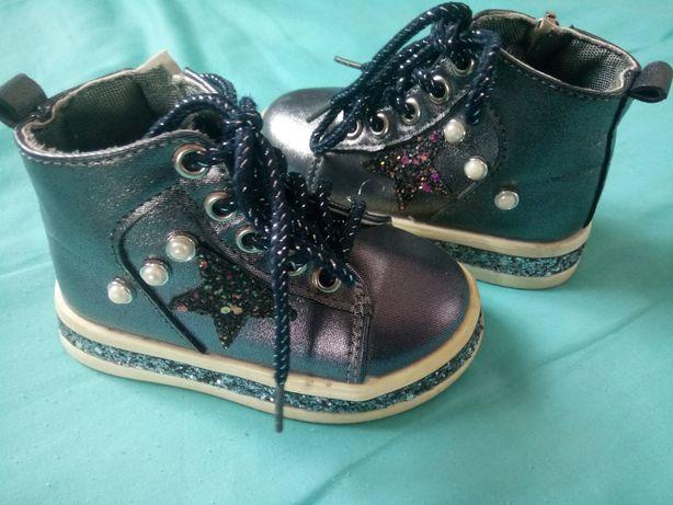 Ботинки сапожки обувь взуття для девочки