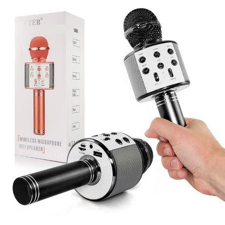 Microfone com Coluna – Sem Fios – USB / SD / BT