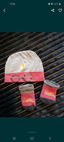 Czapka i skarpetki Harry Potter dla niemowląt