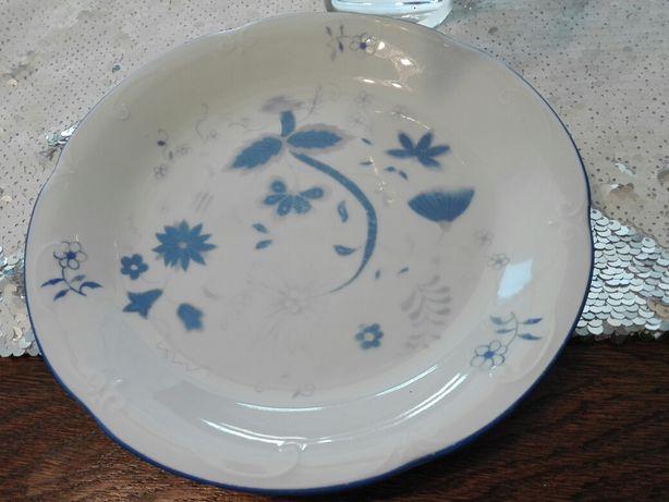 Talerzyk talerz z polskiej porcelany Chodzież MZ wzór cebulowy