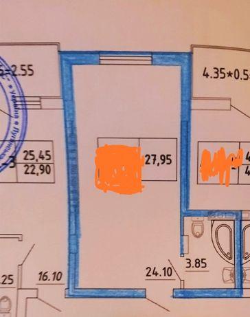 Продам смарт-кв 28м2 в сданном доме на Бочарова