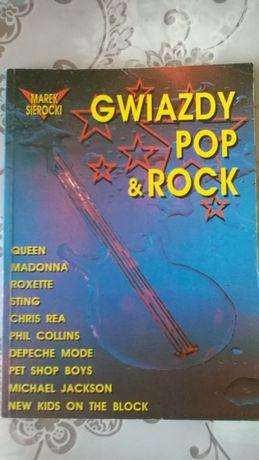 "Album ,, Gwiazdy POP & ROCK ""- 1992 r._ Madonna . Jackson . DM , QUEEN"