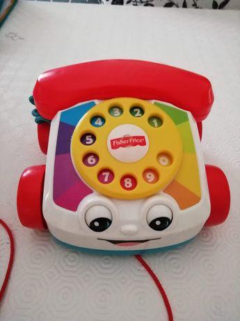 Carro telefone Fisher Price