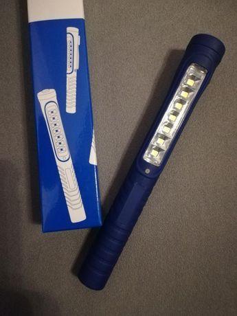 Latarka Berner lampa Pen light Led 7+1 usb