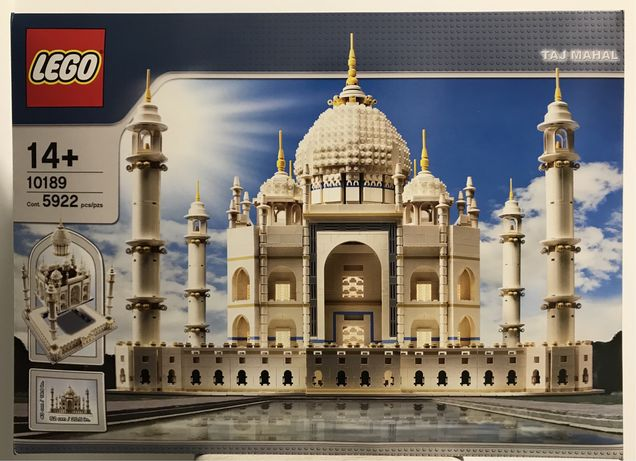 LEGO Taj Mahal 10189 Nowy, Idalny stan, zestaw kolekcjonerski