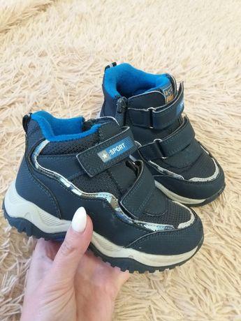 Ботинки для мальчика на осень Weestep