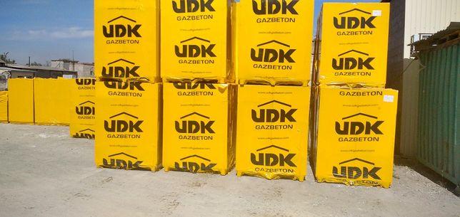 Купить газобетон (газоблок) UDK в Мариуполе. Официальный дистрибьютер!