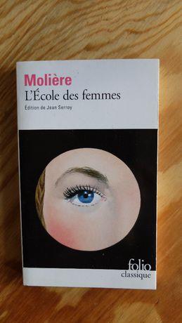 L'ecole des femmes - Moliere, francuski