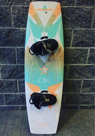 Deska wakeboard Jobe 134cm z wiązaniami Jobe rozm.38 stan bardzo dobry