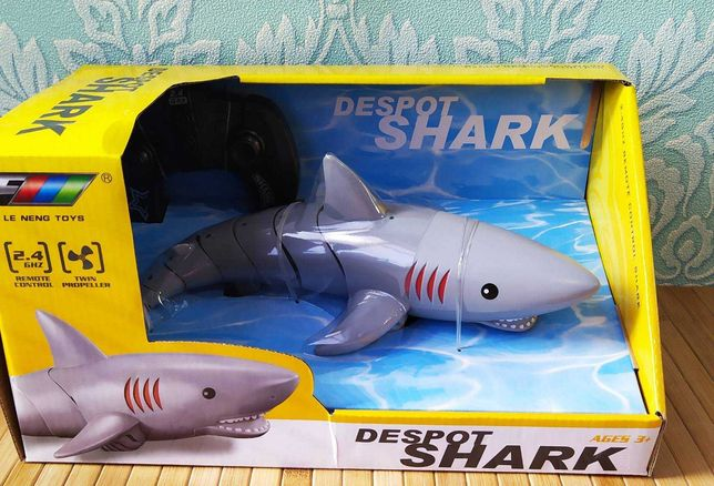Акула на радиоуправлении