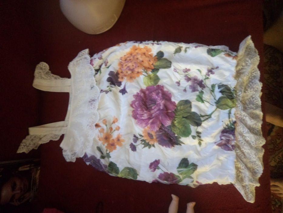 туника платье сарафан принт снизила