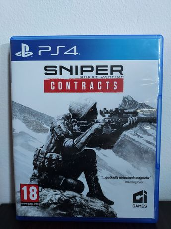 Sniper Contracts PS4 English pl napisy stan jak nowy