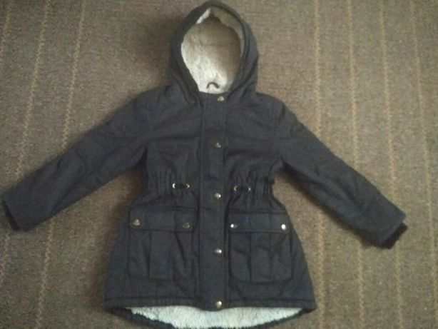 Куртка Парка 8-9 лет р.134