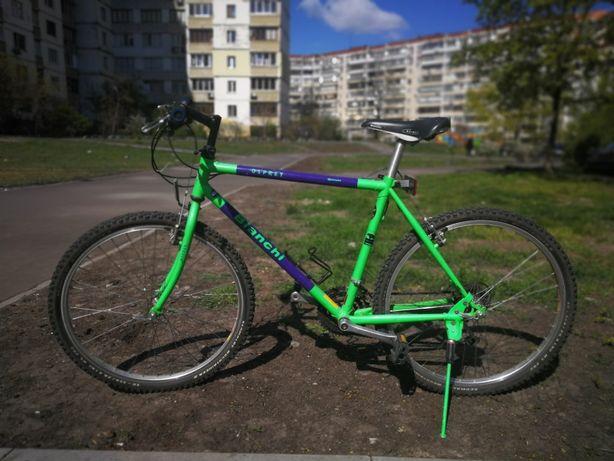 Яркий и надежный велосипед Bianchi лучший Итальянский бренд