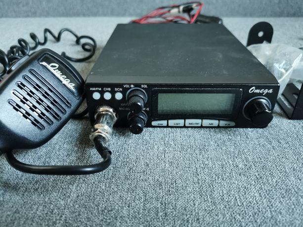 CB Radio OMEGA z anteną