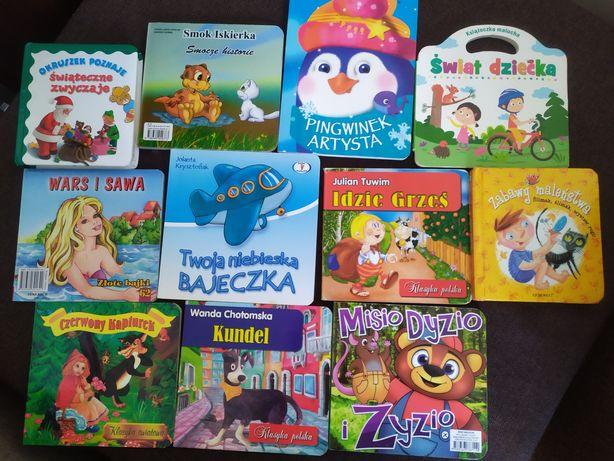 Twarde książeczki dla dzieci