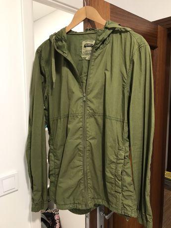 Casaco verde khaki Pullbear