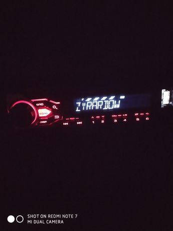 Radio samochodowe USB Pioneer.