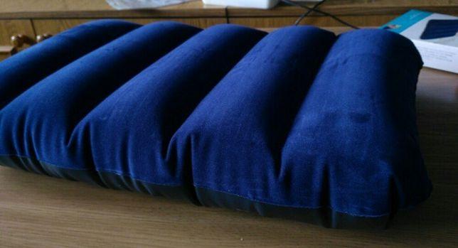 Флокированная надувная подушка Intex Downy Pillow Intex 68672 28на43см