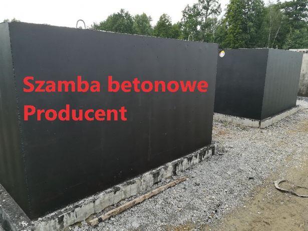 Szczelne szamba betonowe 6m3 od producenta Stoczek Łukowski