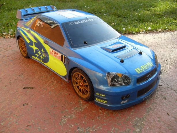 Schumacher 1:10 SUBARU WRC 4WD 4,6 ccm NITRO Model RC Spalinowy