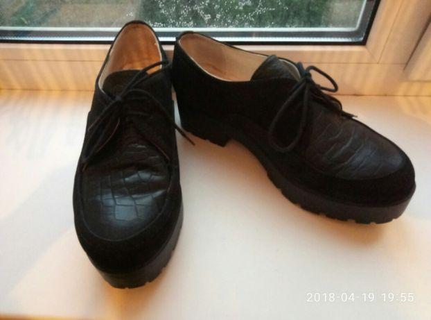 Туфли женские кожаные р. 38