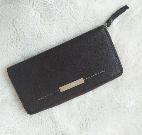 5th AVENUE duży portfel skórzany damski