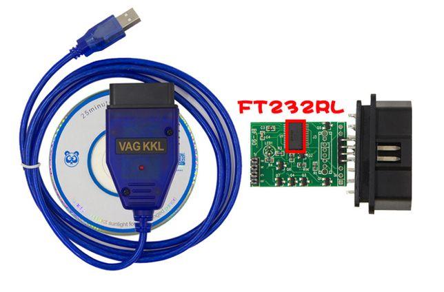 Сканер VAG 409.1 FT232RL (VAG COM KKL USB адаптер)VW,Audi ВАСЯ/кабель