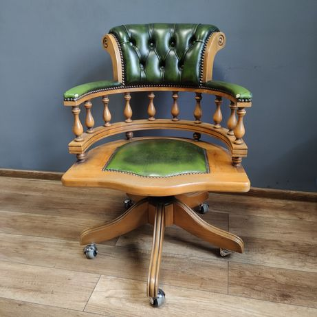 Stylowe krzesło biurowe, idealne do biura lub domu