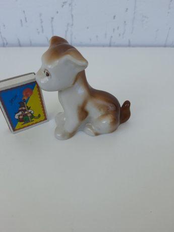 Фігурка собачка кераміка фарфор