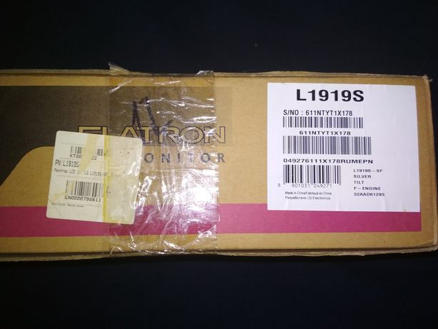 Монітор LG FLATRON L1919S-SF