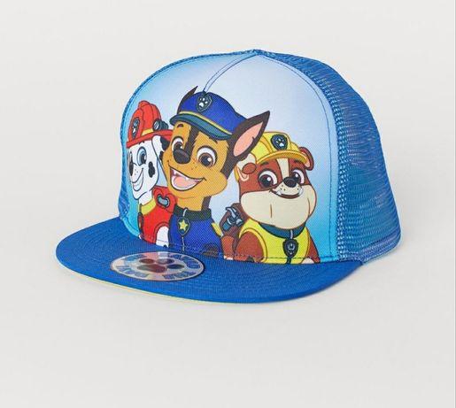 Full cap, czapka z daszkiem H&M psi patrol 110/128 nowa