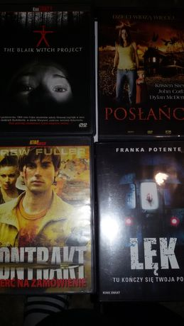 Filmy DVD 14 sztuk Horror Thriller komedia dramat
