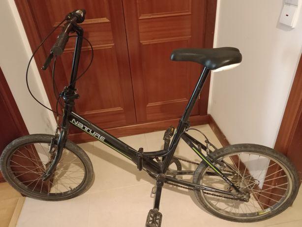 """Bicicleta dobrável """"Nature"""""""