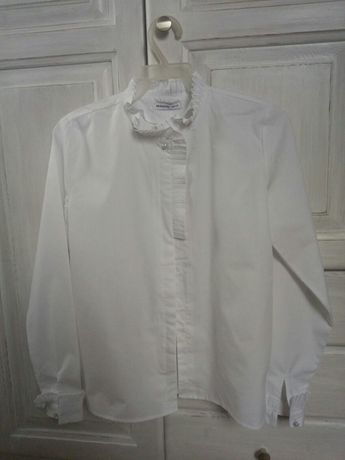 Biala bluzka 158 Reserved nowa