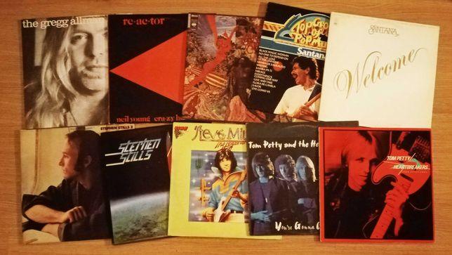 Vinyl: LPs de Neil Young, Santana, Tom Petty, etc (LER DESCRIÇÃO)
