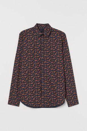 Рубашка h&m мужская tommy n dior Armani Calvin Klein