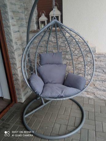 Okazja!!! 2 fotele wiszące ogrodowe kokon