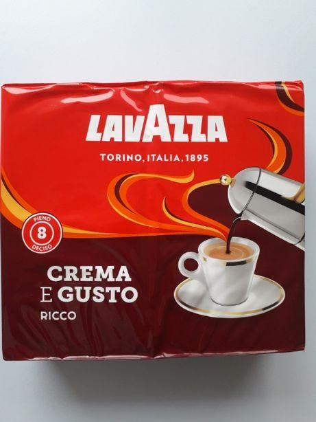 Итальянский молотый кофе Lavazza crema e gusto RICCO 2х250
