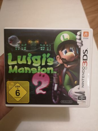 Mario Luigin's mansion 2 Nintendo 3ds