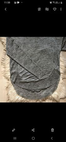 Lekki cienki  sweterek S sweter dluzszy tyl